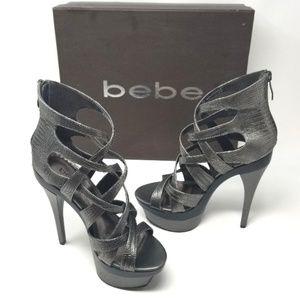 Bebe Adrianna Platform Stiletto Heels